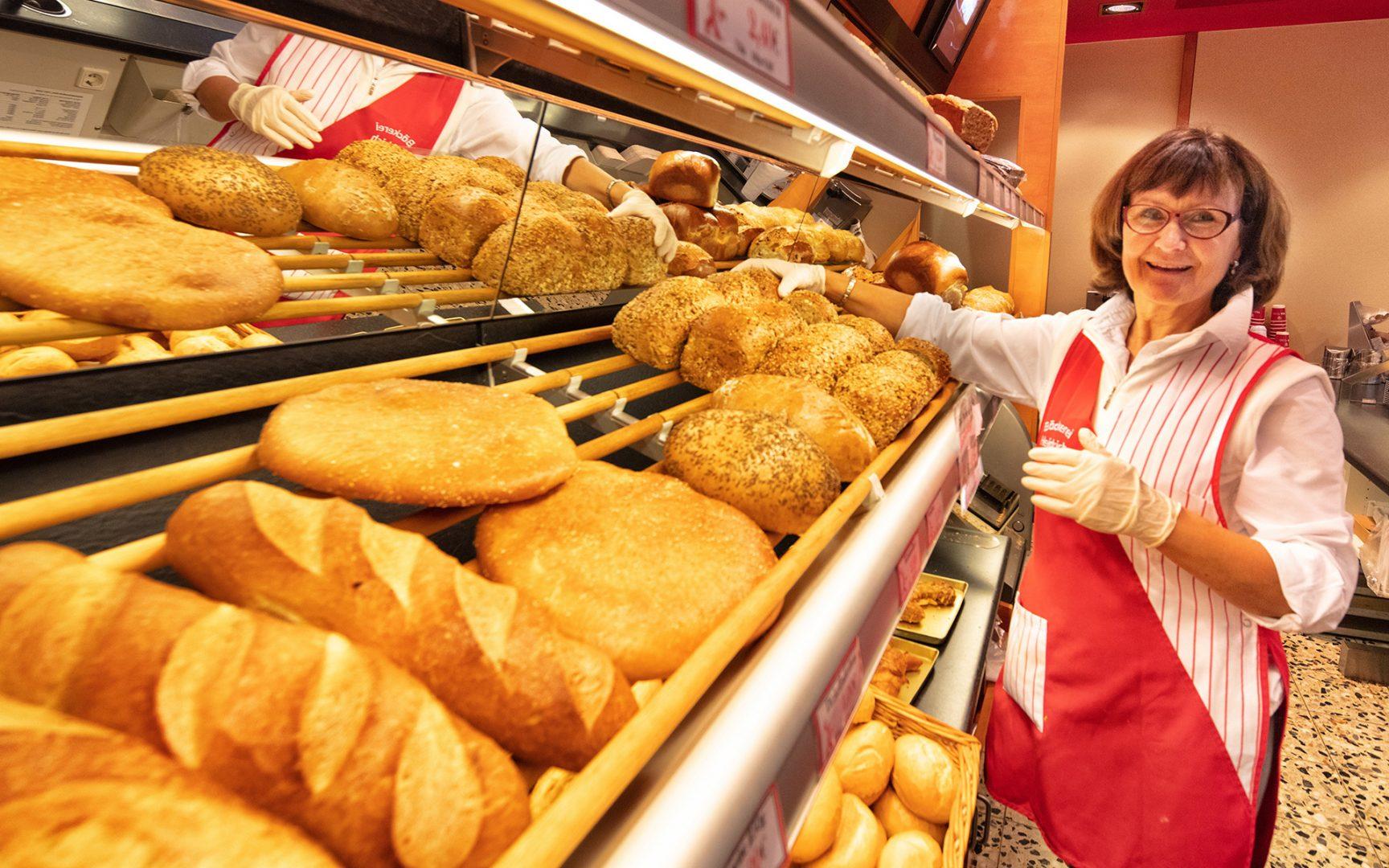 Frisches Brot Bäckerei Heidrich