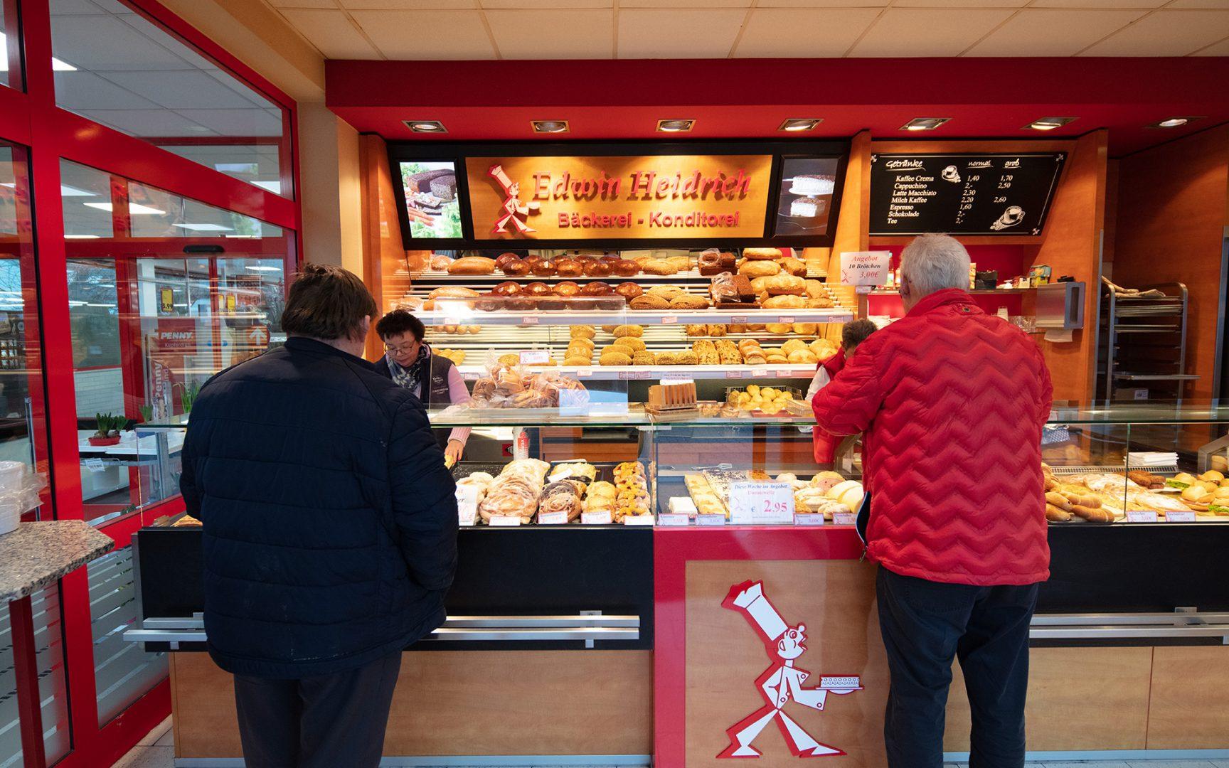 Herzlich Willkommen in den Filialen der Edwin Heidrich Bäckerei-Konditorei